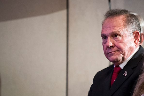 Roy Moore Lands NeoNazi Endorsement Before Election For 'Correctly Beauteous Roy Moore Quotes
