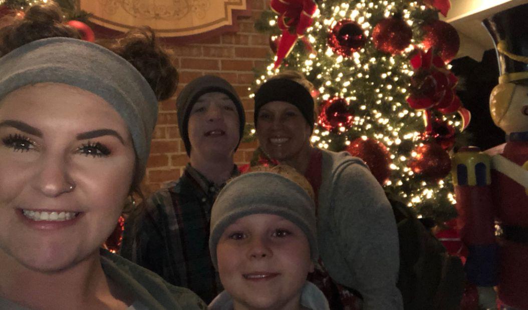 Keaton Jones, Kimberly Jones, Lakyn Jones and other siblings