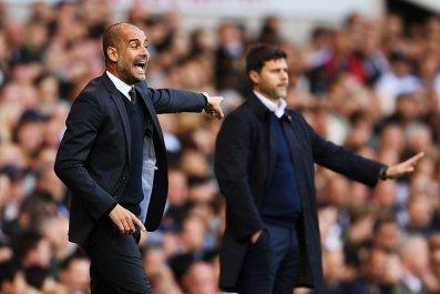 Guardiola and Pochettino