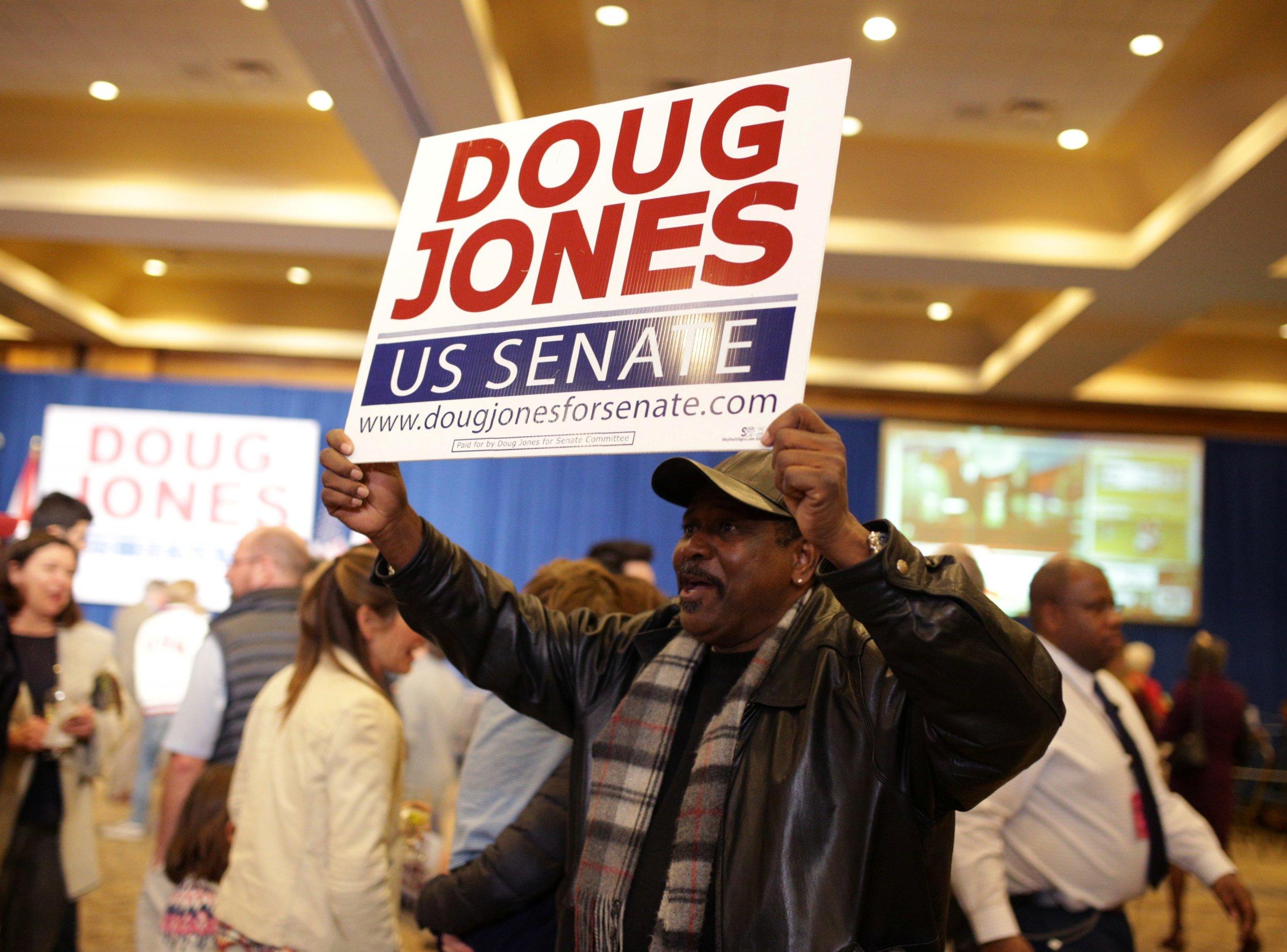 doug jones support