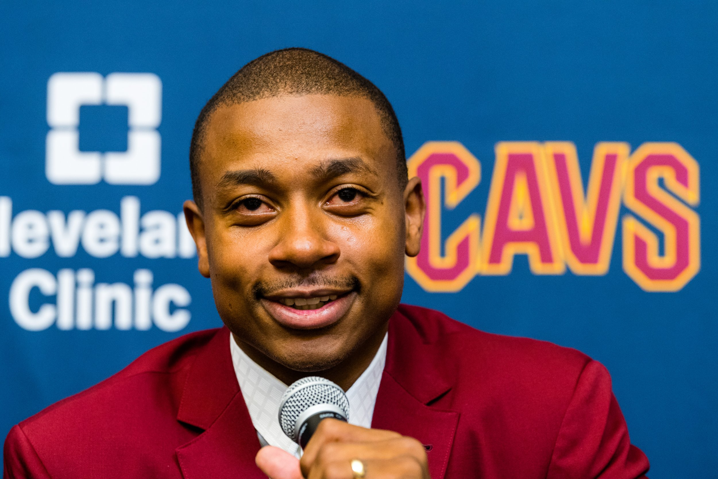 Cleveland Cavaliers point guard Isaiah Thomas.
