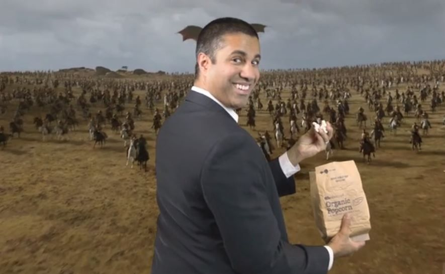 "Net neutrality enemy Ajit Pai labelled a ""smug asshole gloating"" for latest stunt"