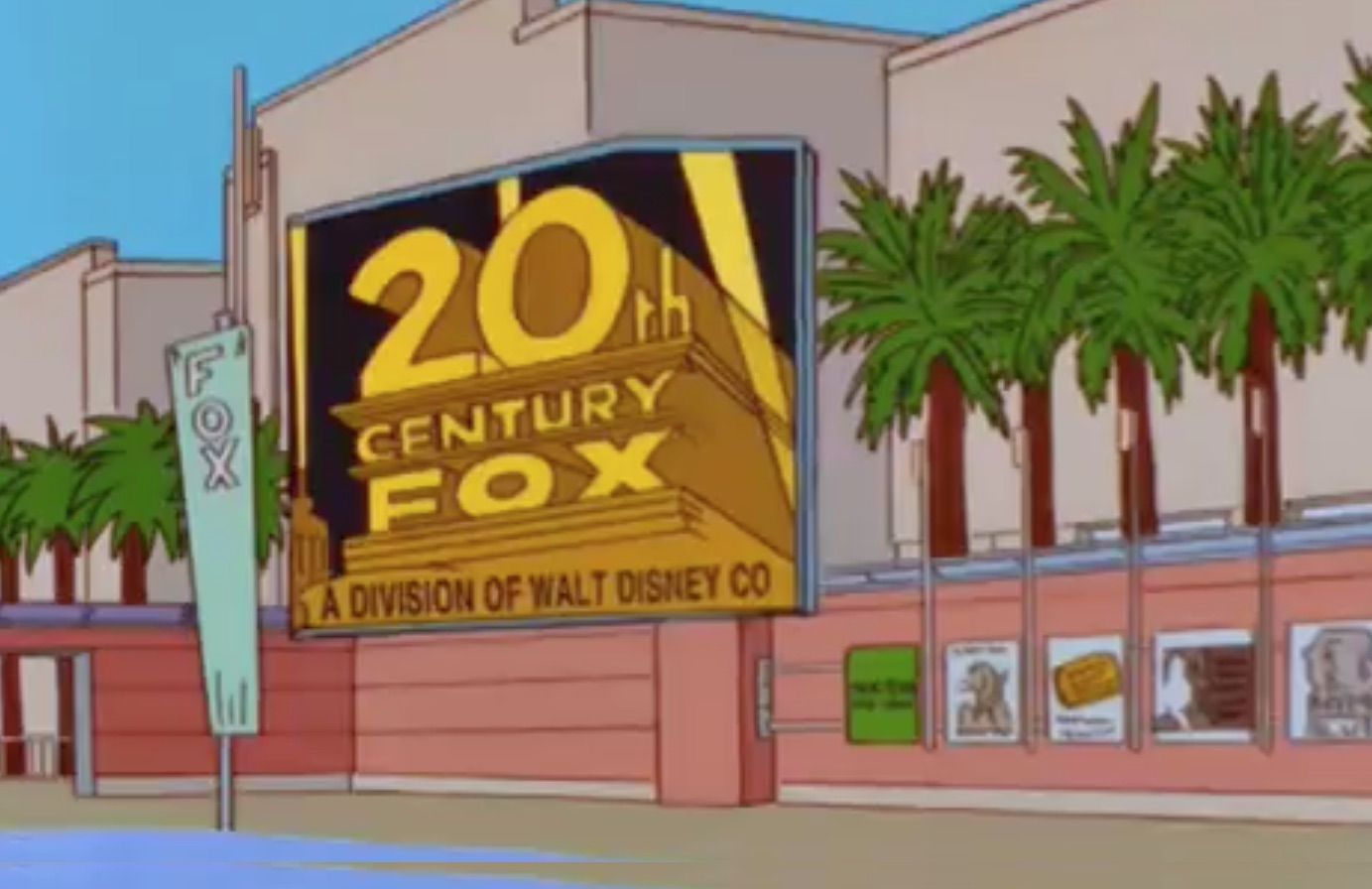 The Simpsons predicts Disney buying Fox