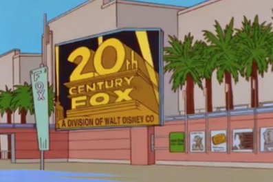 The Simpsons predicts Disney buying Fox
