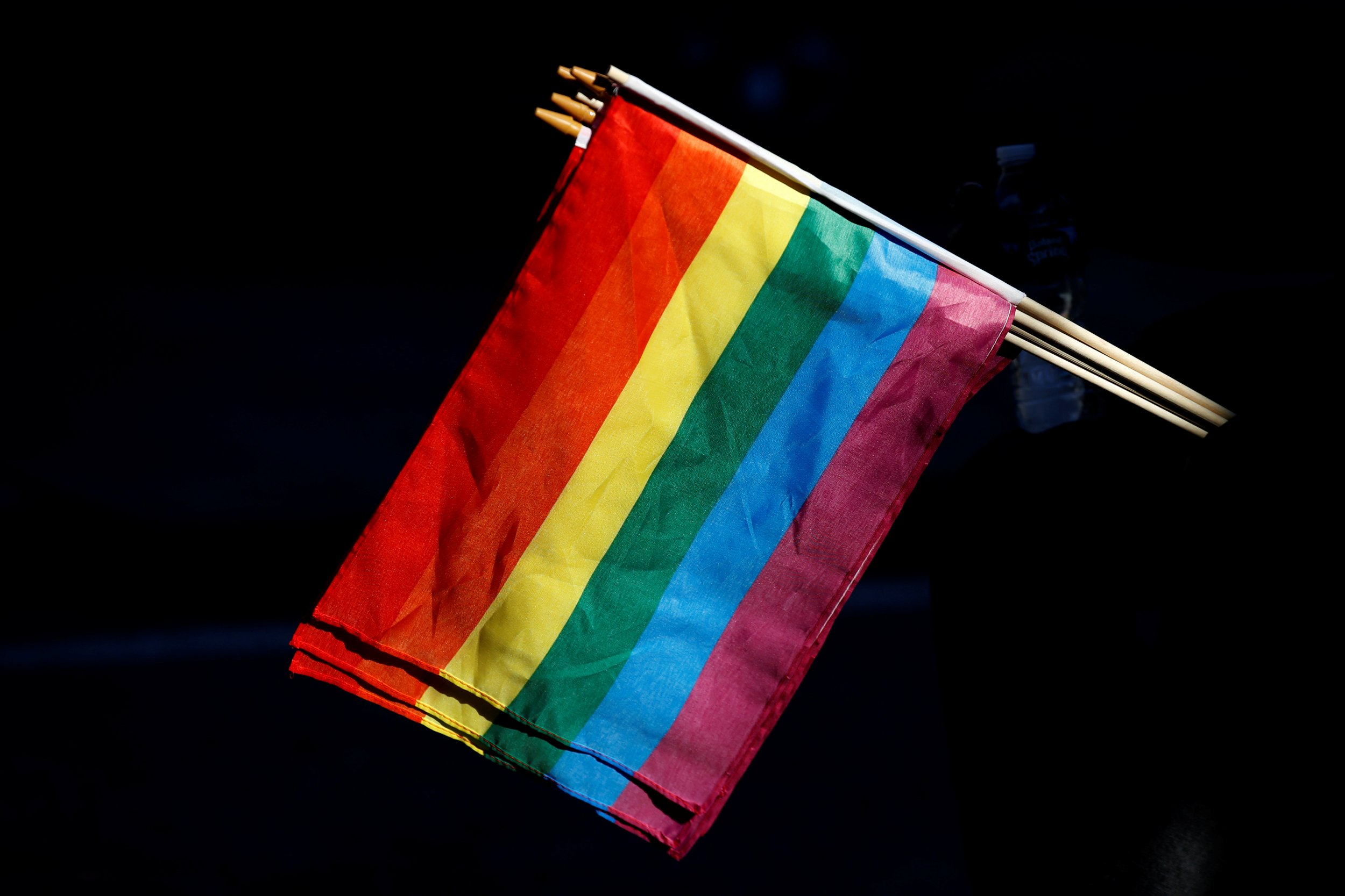 rainbow flag reuters