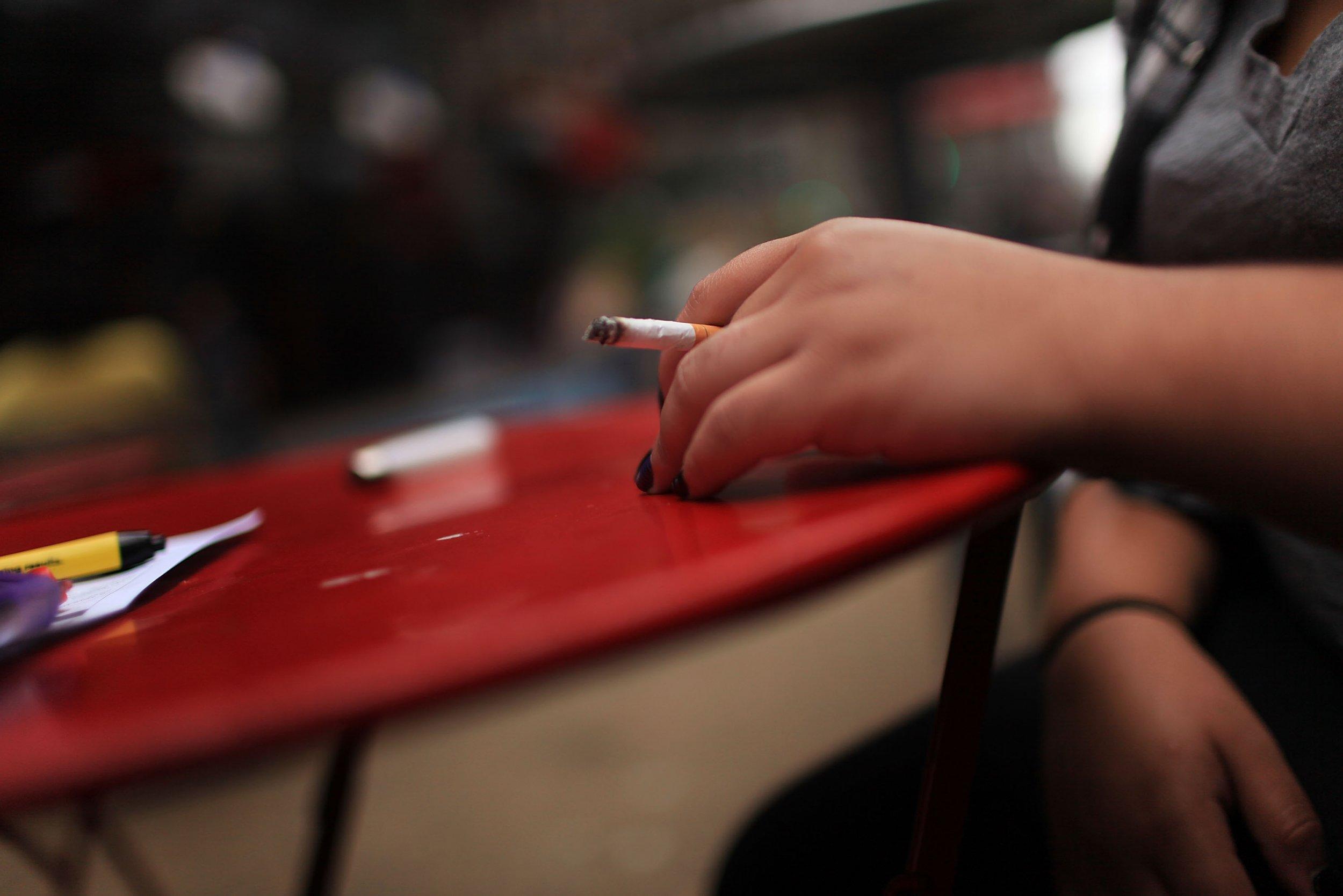 smoking times square