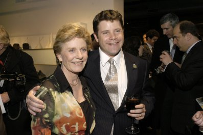 Patty Duke and Sean Astin