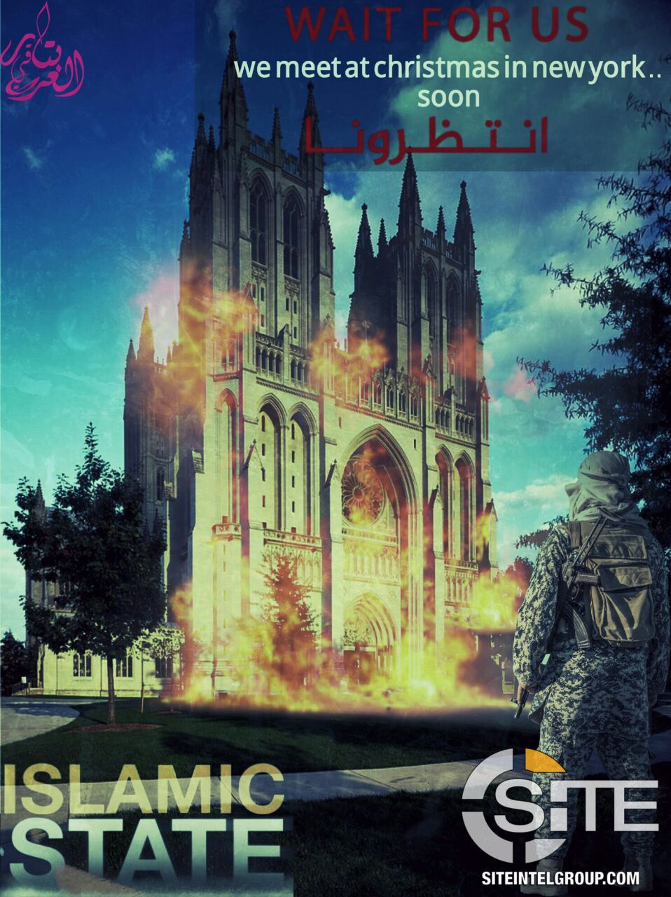 National Cathedral Christmas 2019 Will ISIS Attack Washington D.C. Or New York On Christmas