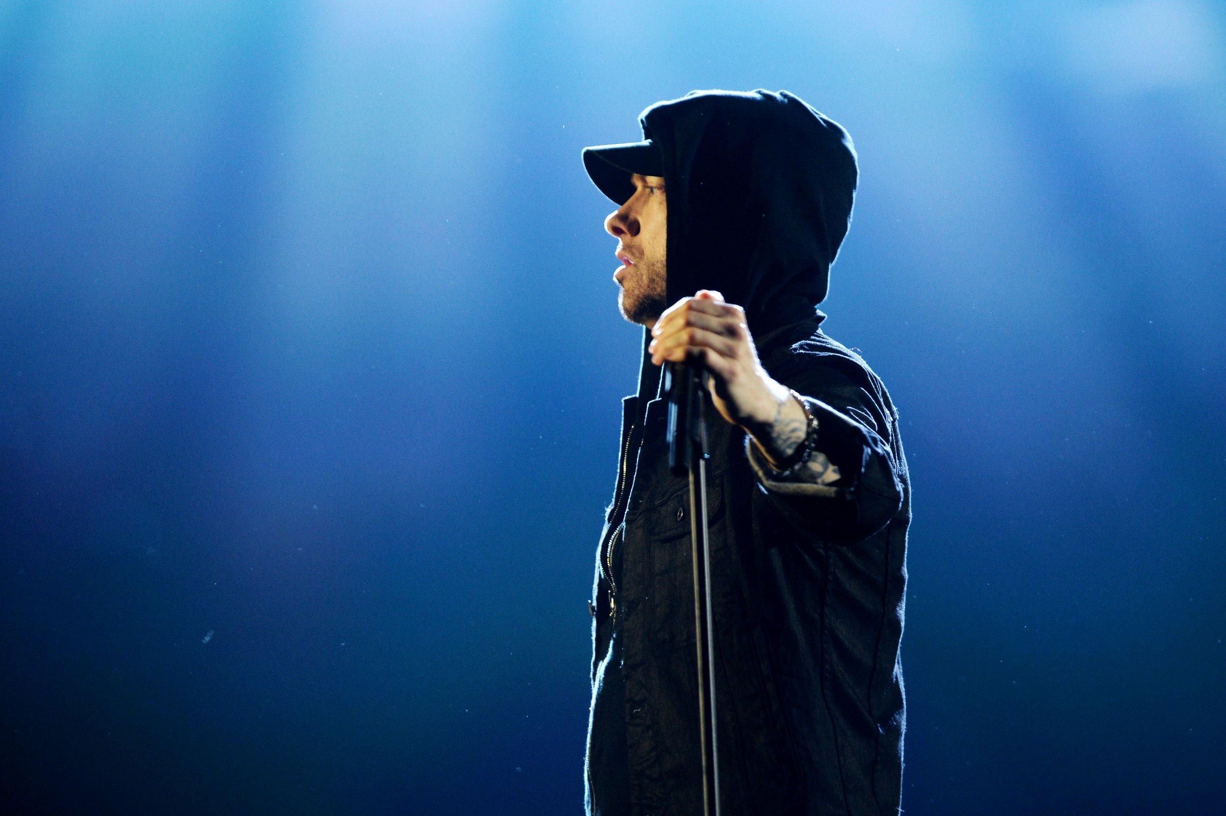 Eminem blasts Trump on new album Revival