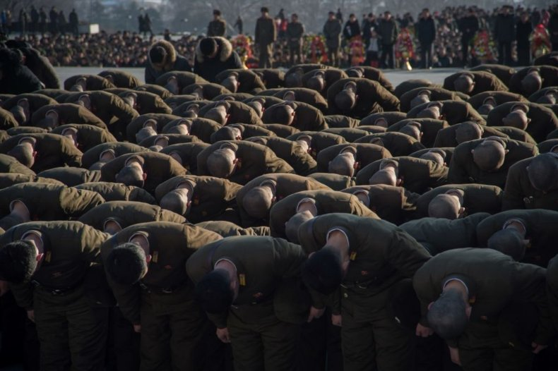 north korea event kim jong il