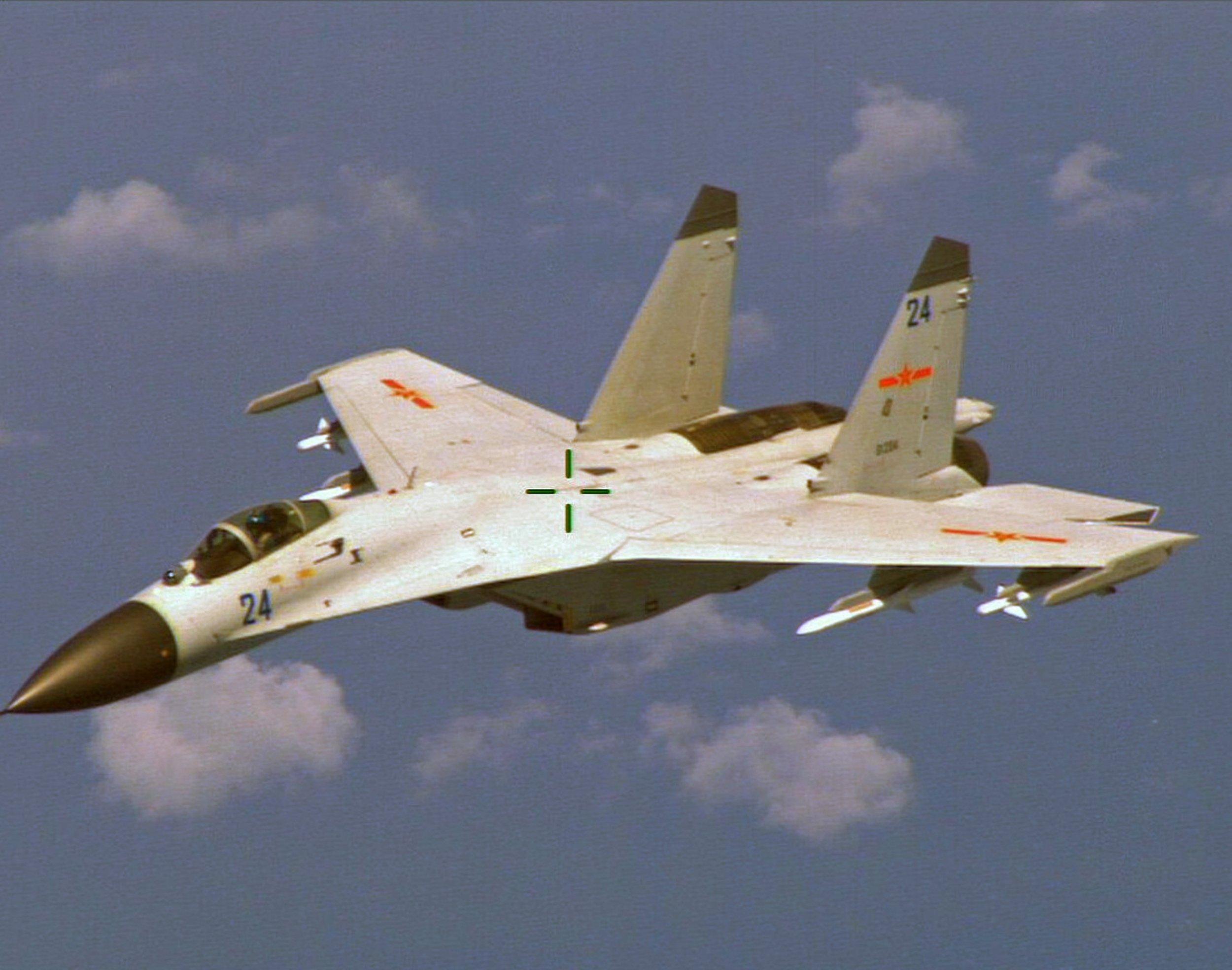 Chinese Warplanes Enter Korea Air Defense Zone, Prompting South