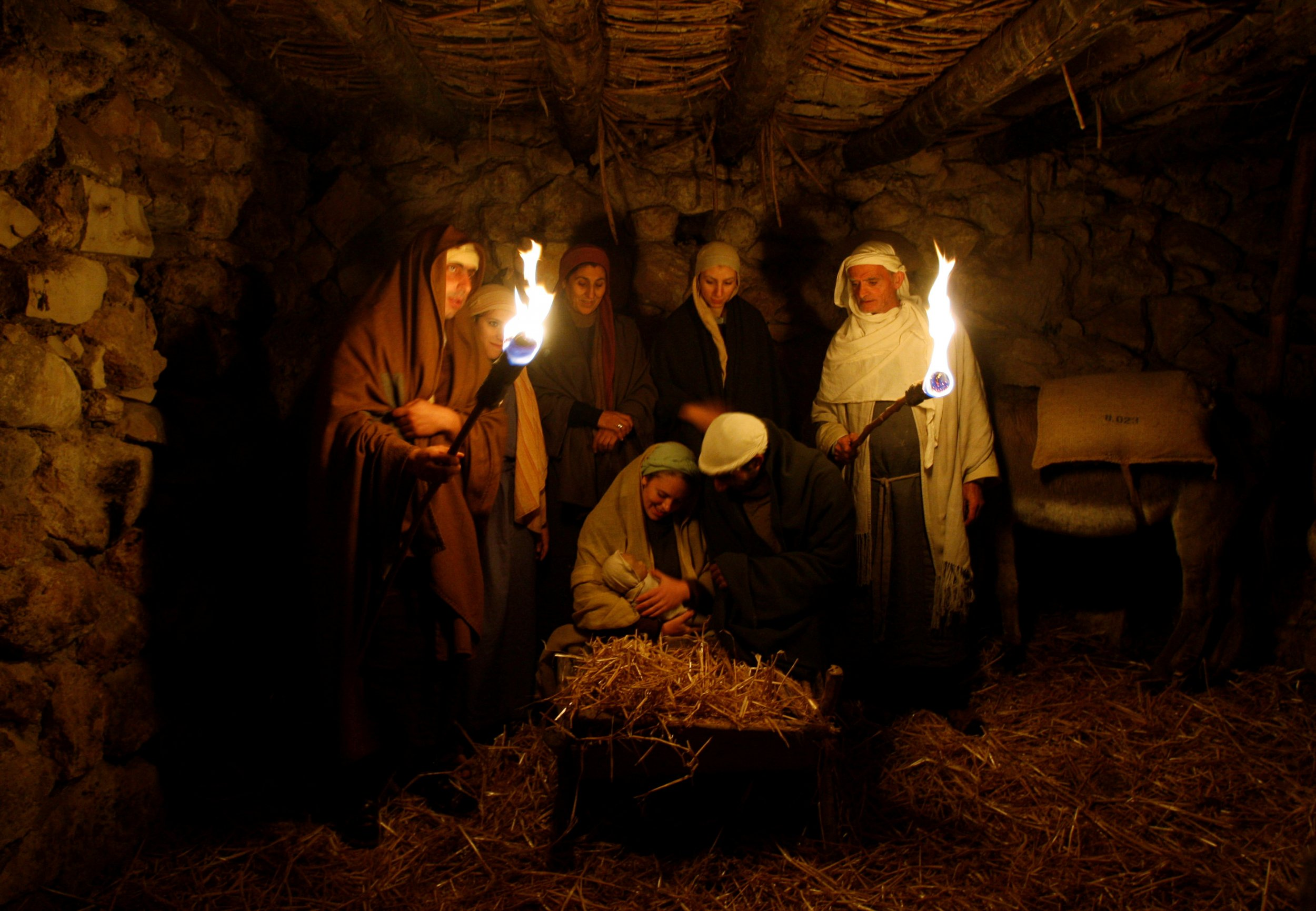 jesus birth story revised by activist nativity scenes