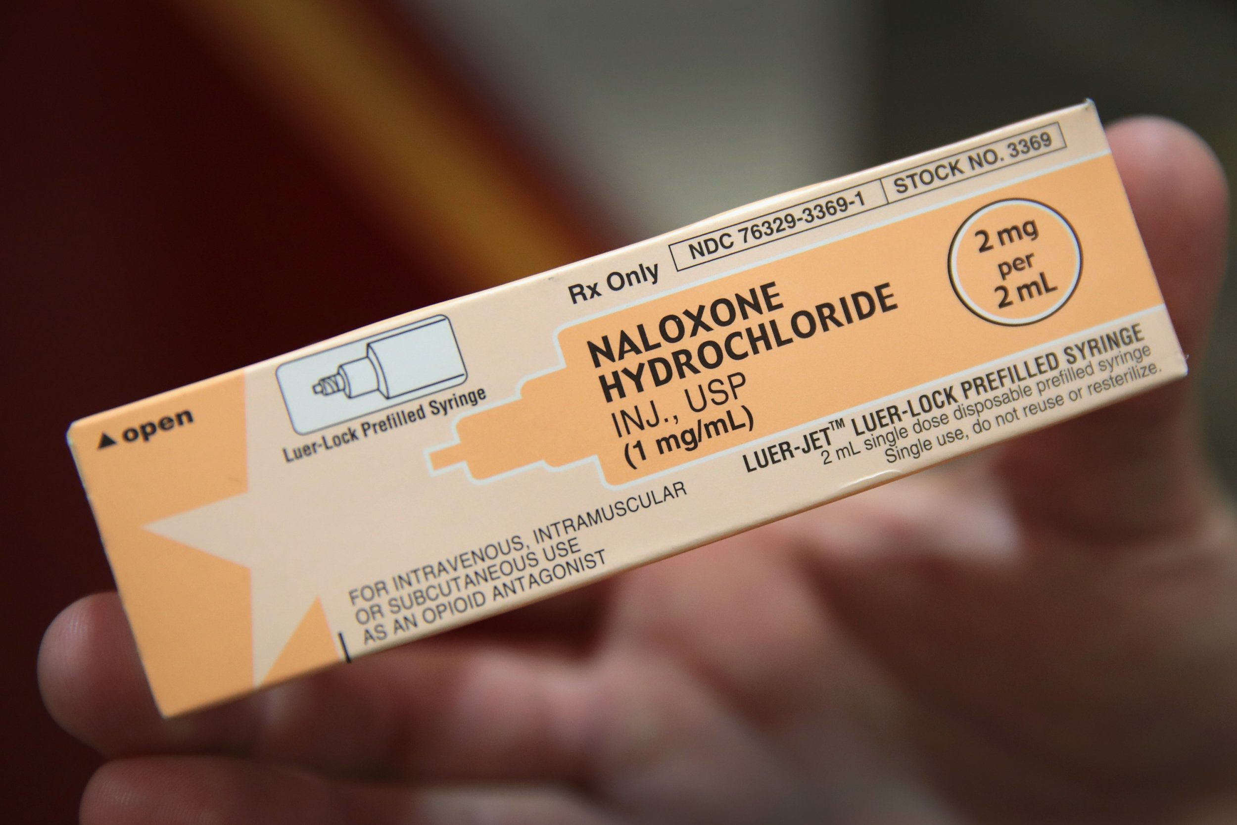 naloxone injectable