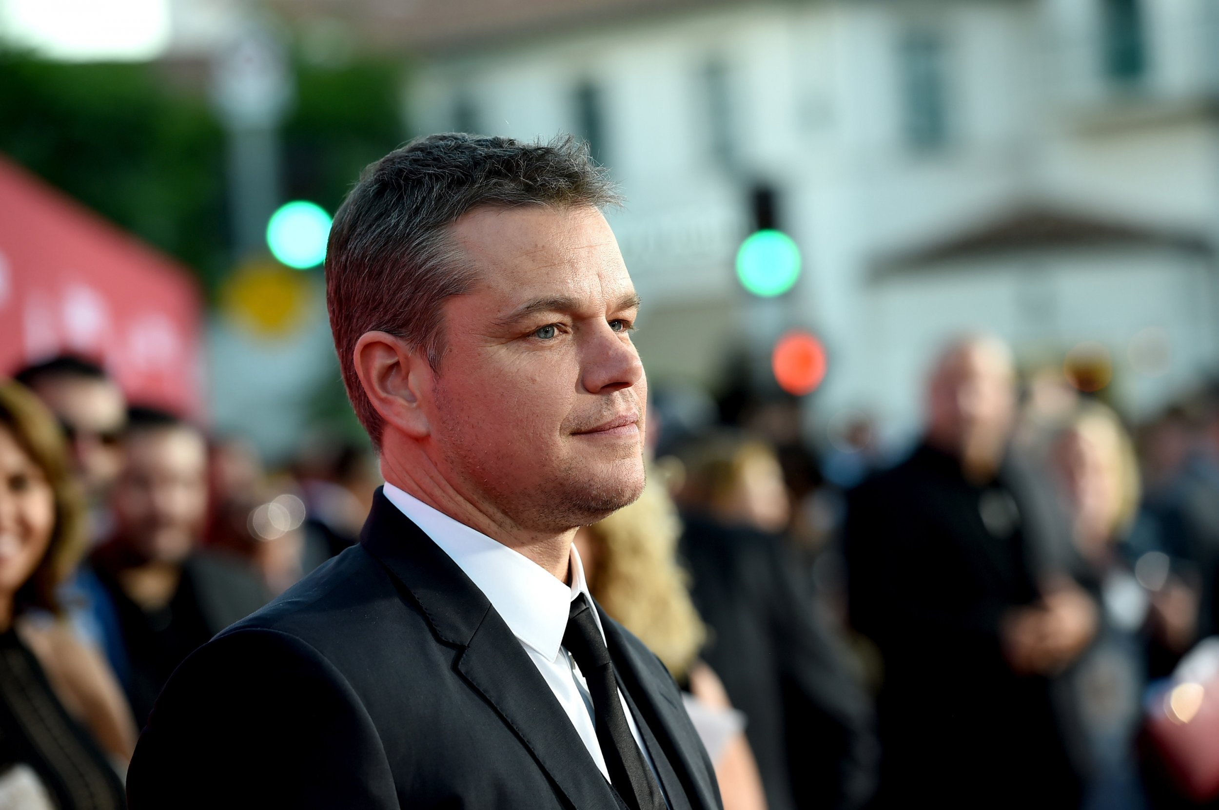 Matt Damon wants people to talk about non-sexual harassers