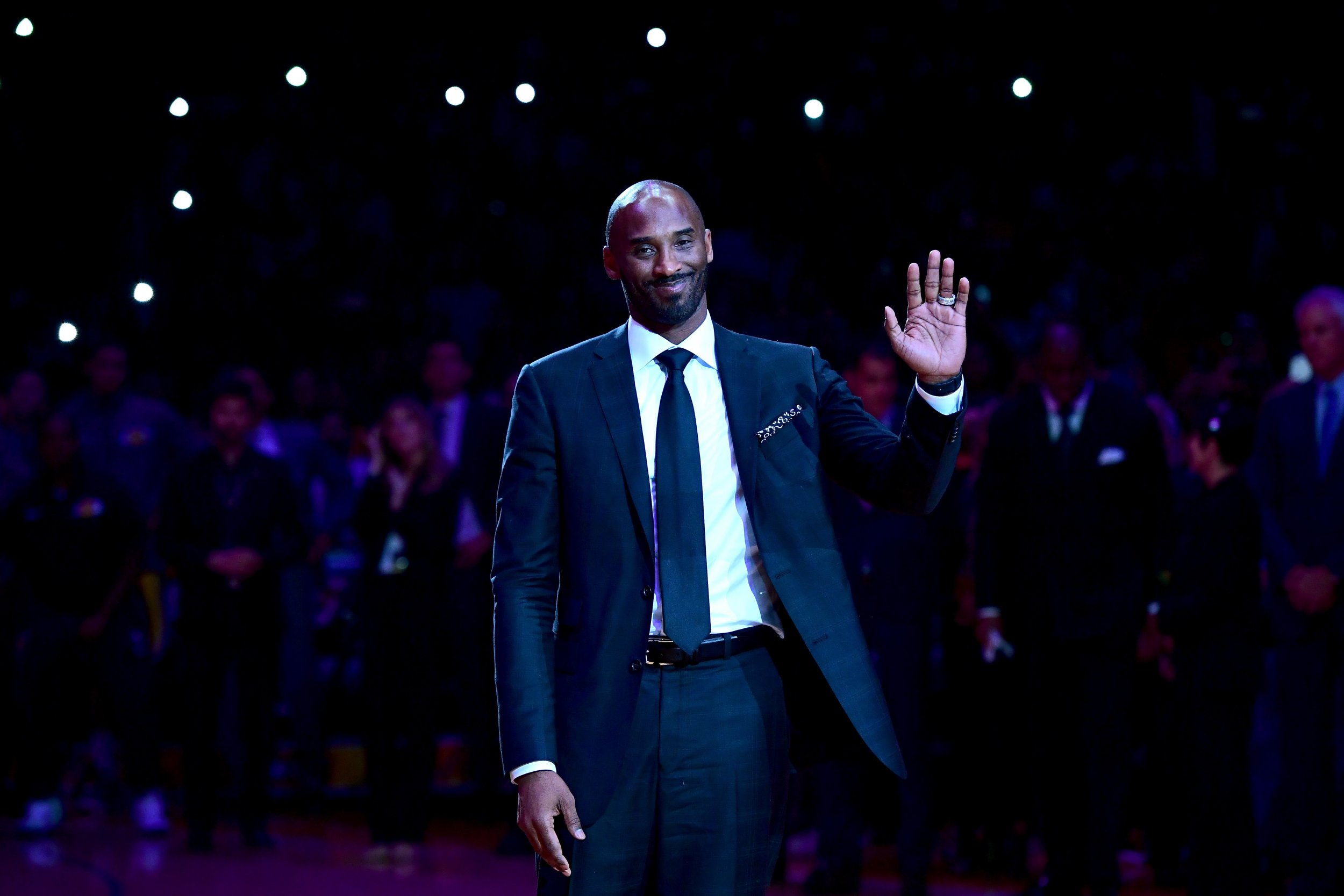 Former Los Angeles Lakers point guard Kobe Bryant.