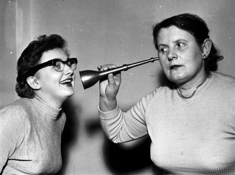 Deaf German women
