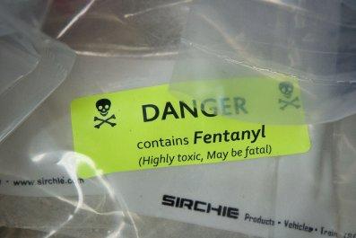 Fentanyl bag