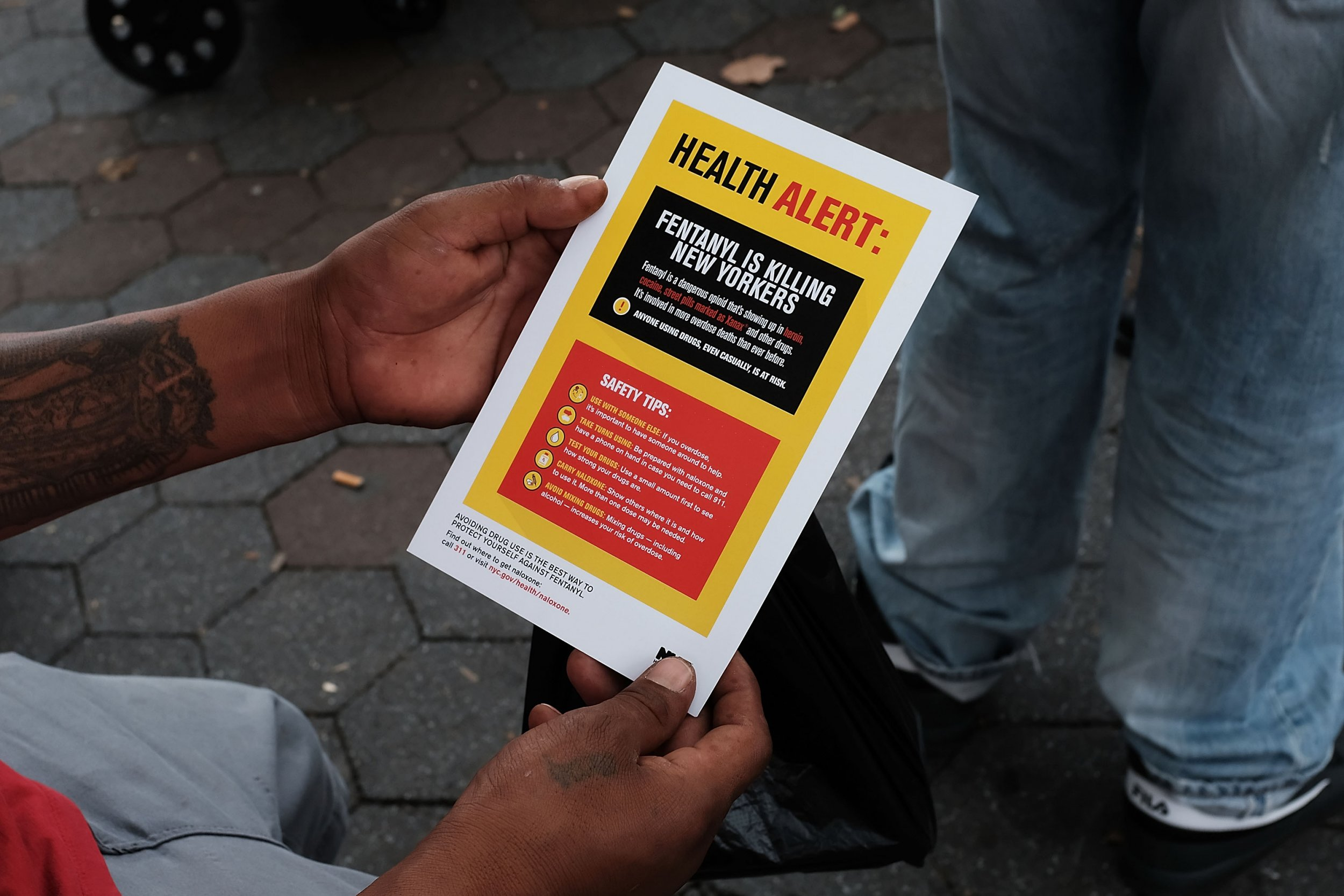 fentanyl is killing NYers
