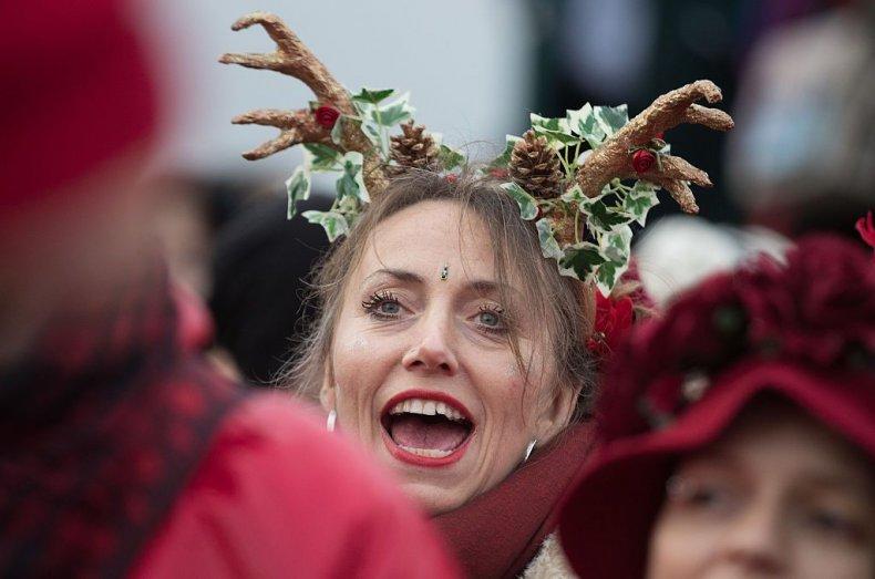 winter solstice woman