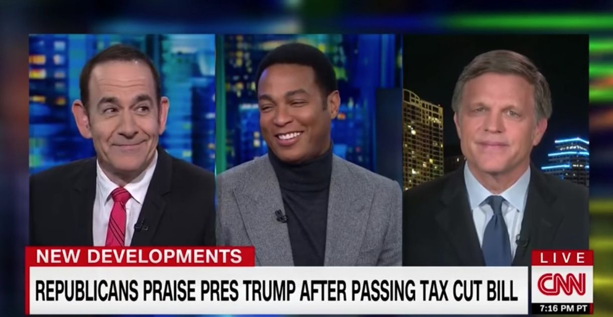 Don Lemon questions Trump's tax bill celebration