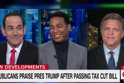Don Lemon questions Trump's tax bill celebration