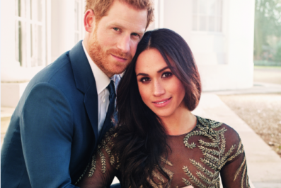 Who Made Meghan Markle's Engagement Photo Dress?