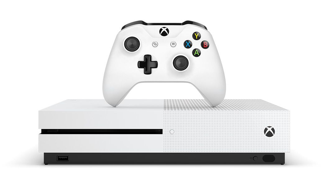 The Xbox One Cur Model From Microsoft