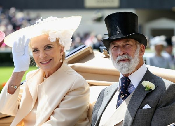 Princess Michael of Kent Wears Blackamoor Brooch to Lunch Attended by Meghan Markle