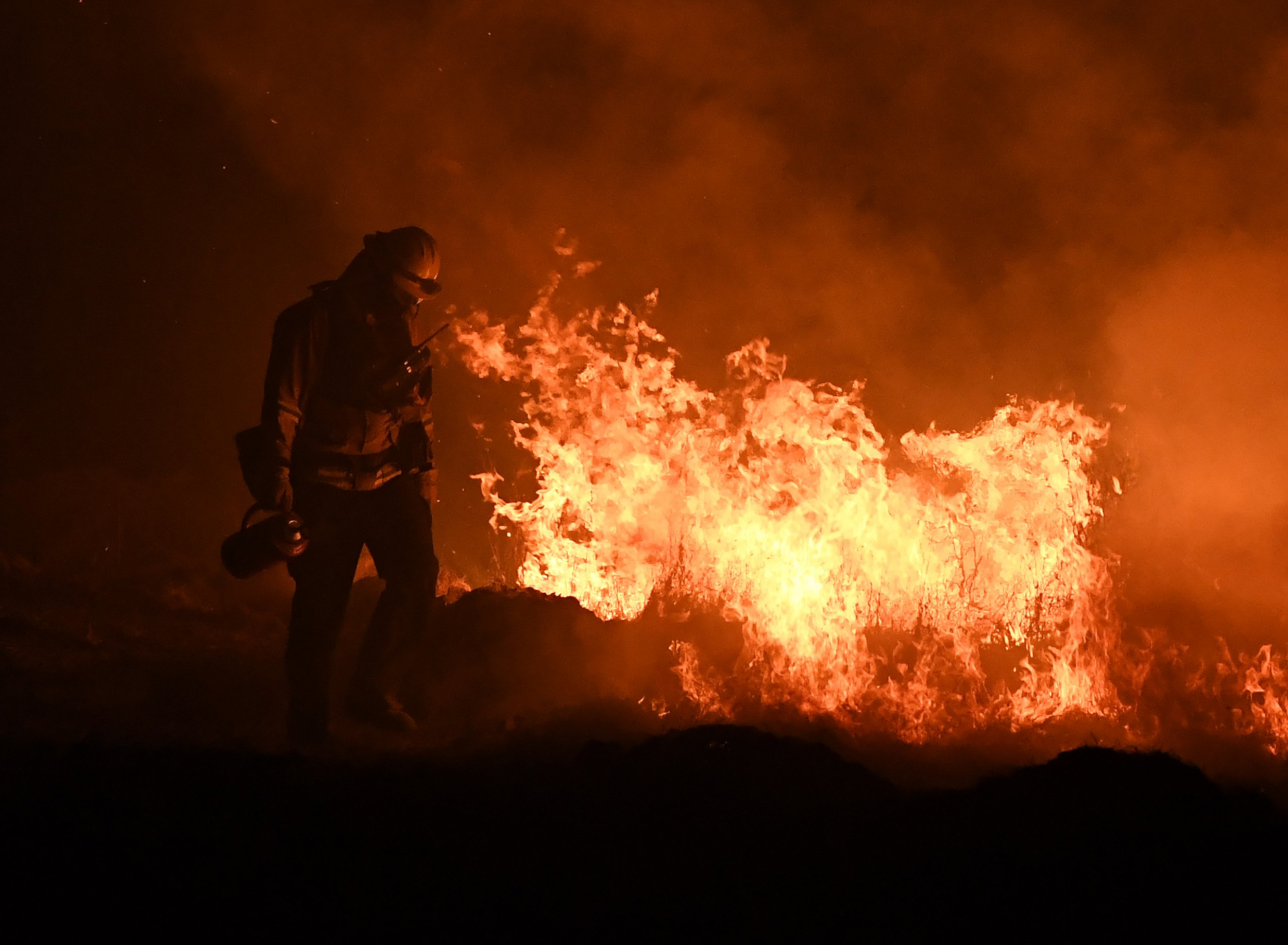 Climate change and the california wildfires