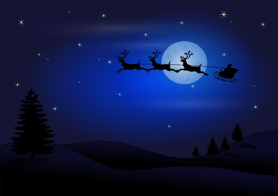 Claus-Christmas-Reindeer-Flying-Sledge-Santa-31665