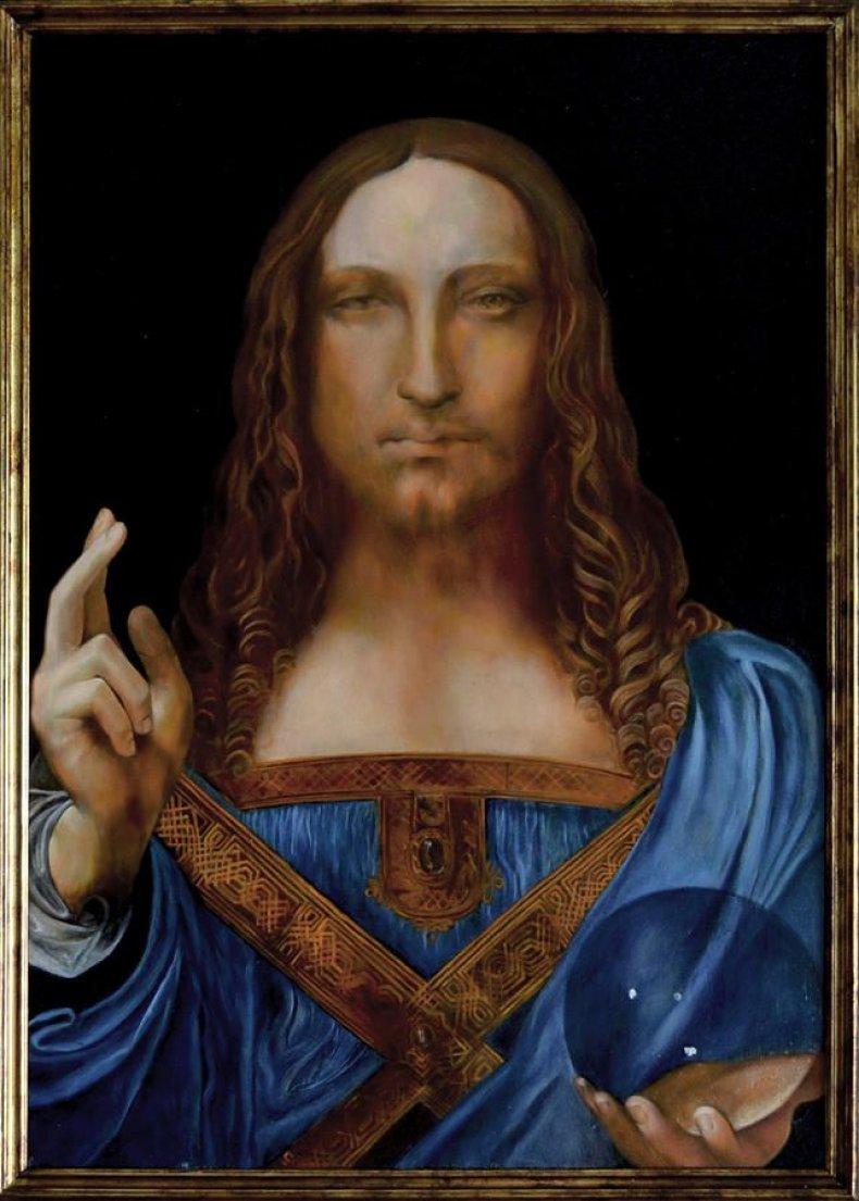 Figure 1, Salvator Mundi