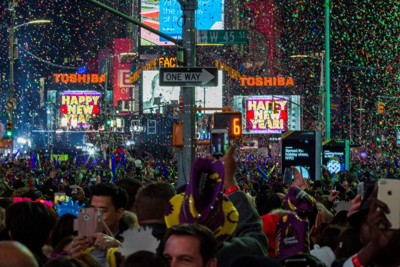 New year's eve for netflix story