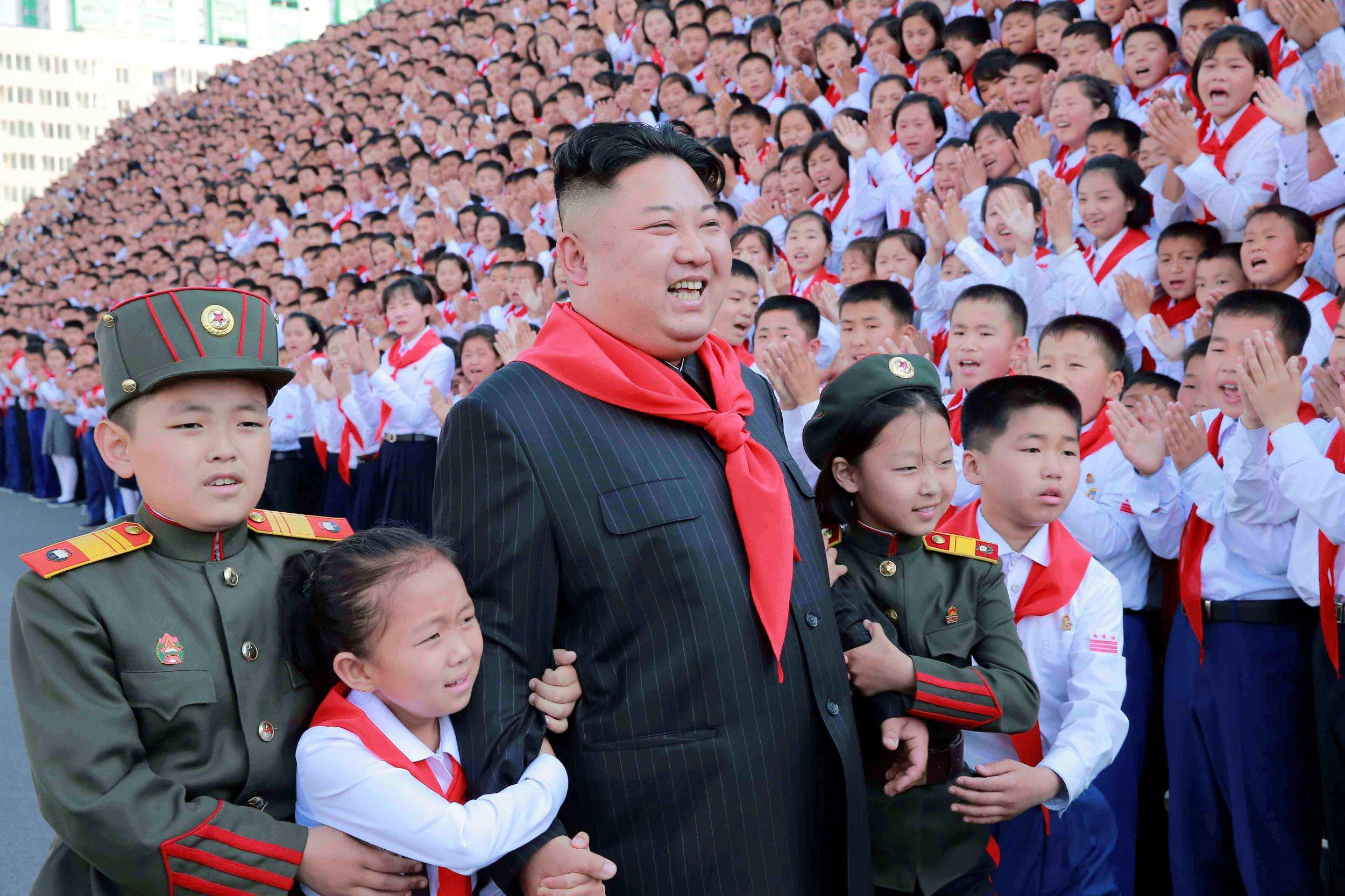 jong un North korea kim