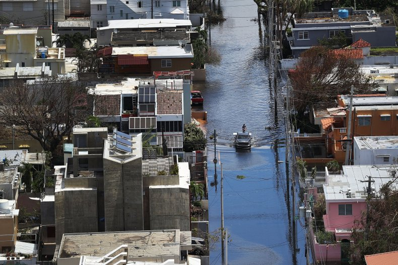 Hurricane Maria flooding