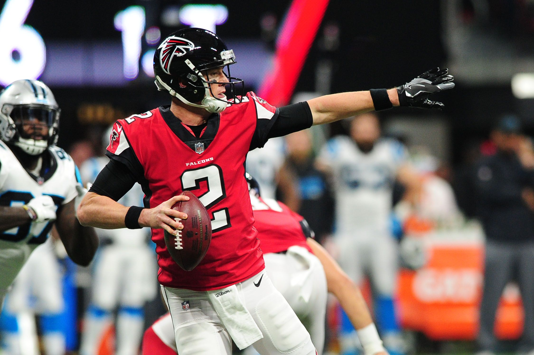 reputable site f5025 e1d98 What Time, TV Channel is the Atlanta Falcons vs. Carolina ...