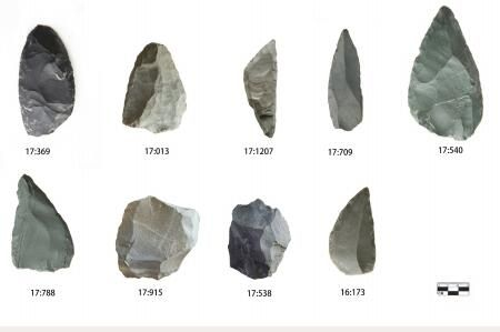 how to identify ancient stone tools