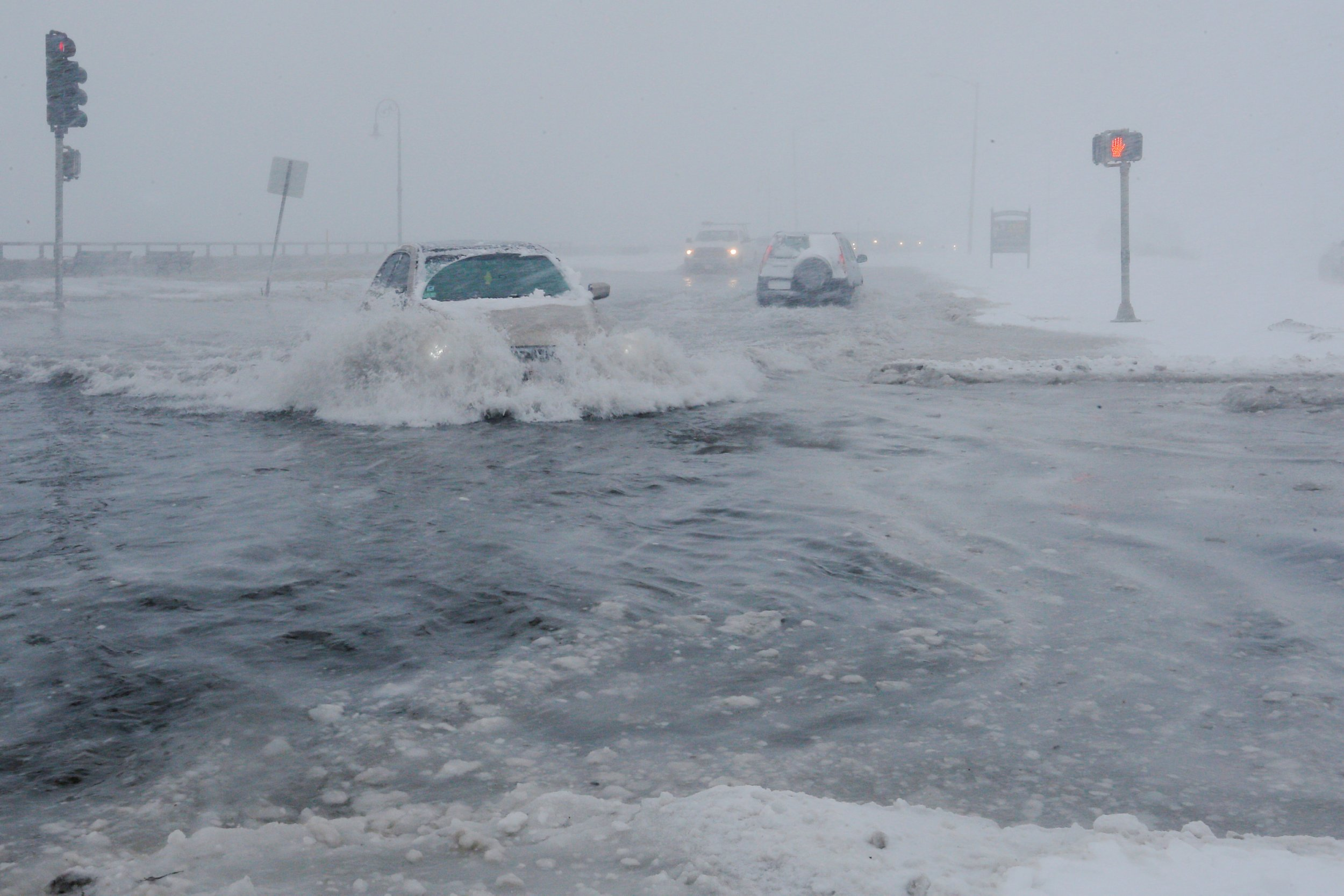 Deep Freeze Follows Bomb Cyclone As East Coast Battles
