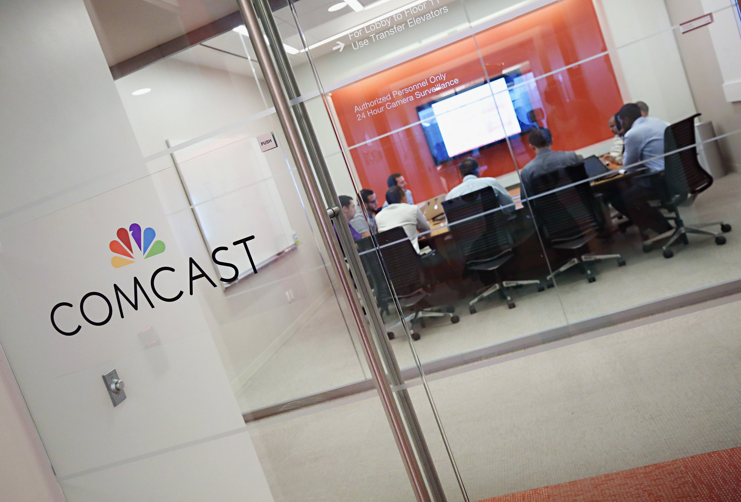 Comcast Fired Hundreds of Workers Before Christmas Alongside