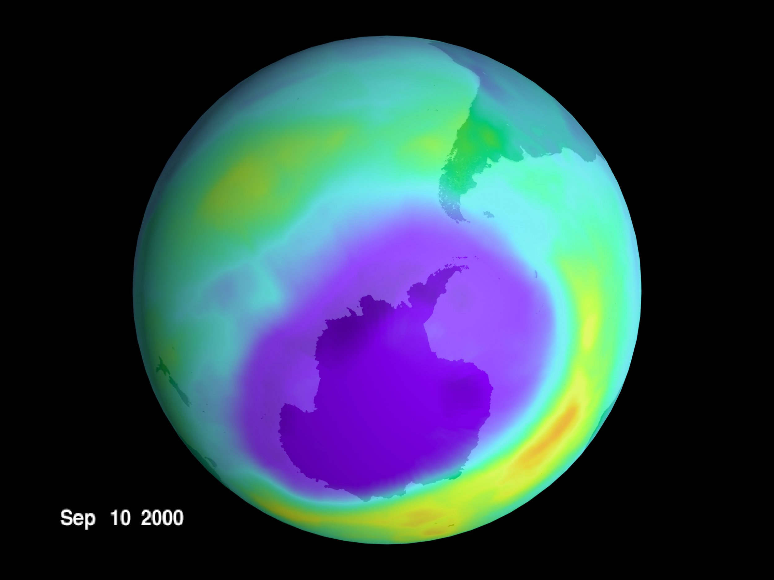 NASA: Hole in Earth's Ozone Layer Finally Closing Up Because Humans Did Something About It