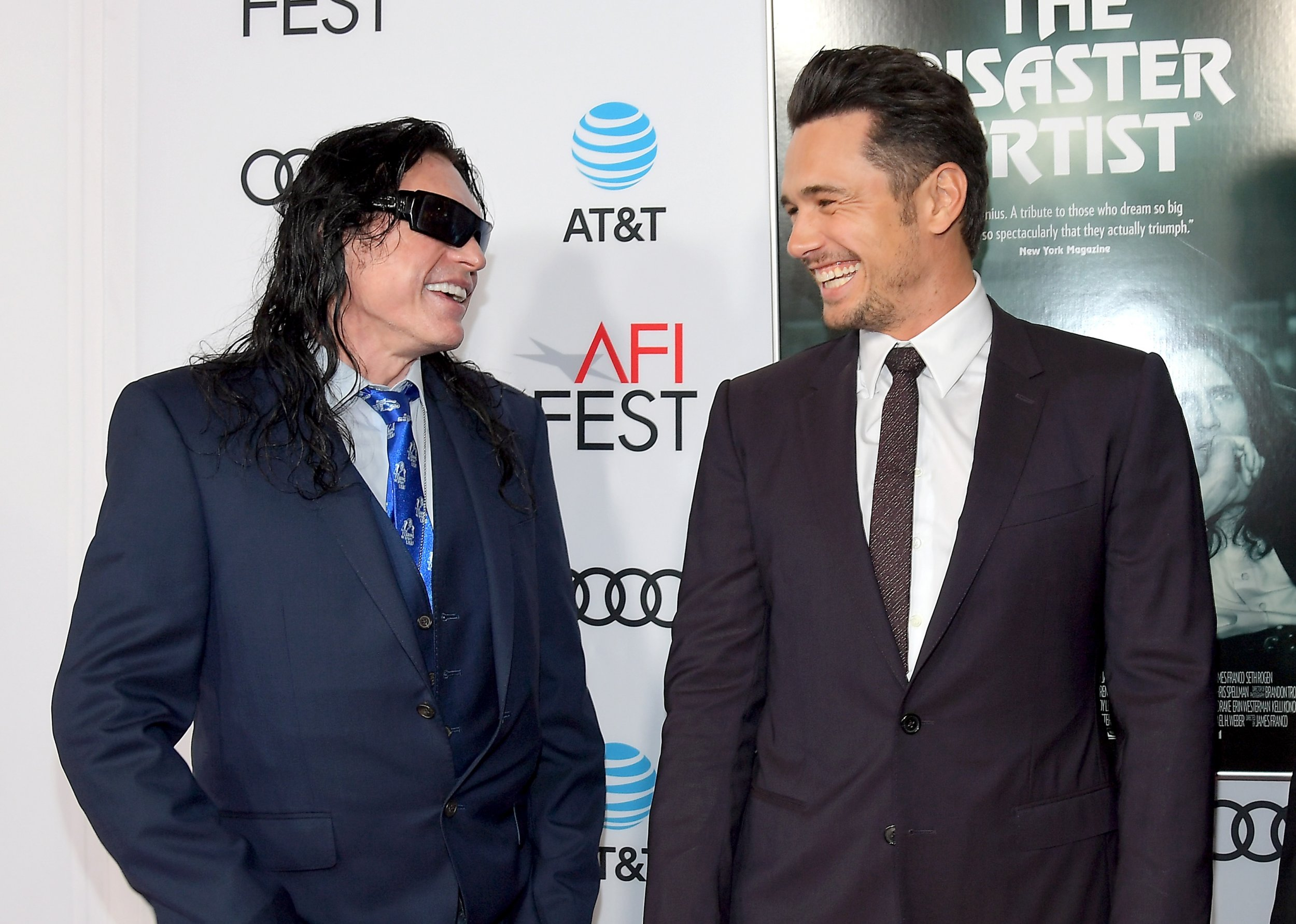 james franco tommy wiseau golden globes story photo