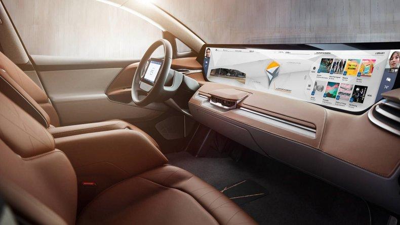 byton self-driving car electric tesla china