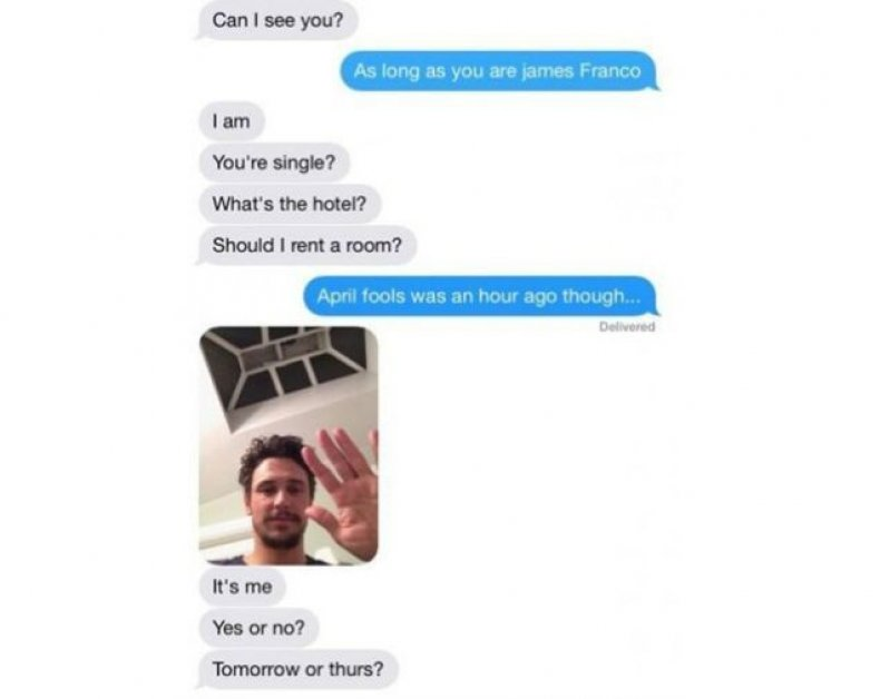 james franco texts