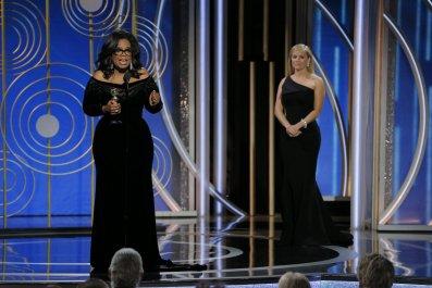 Oprah Winfrey at Globes