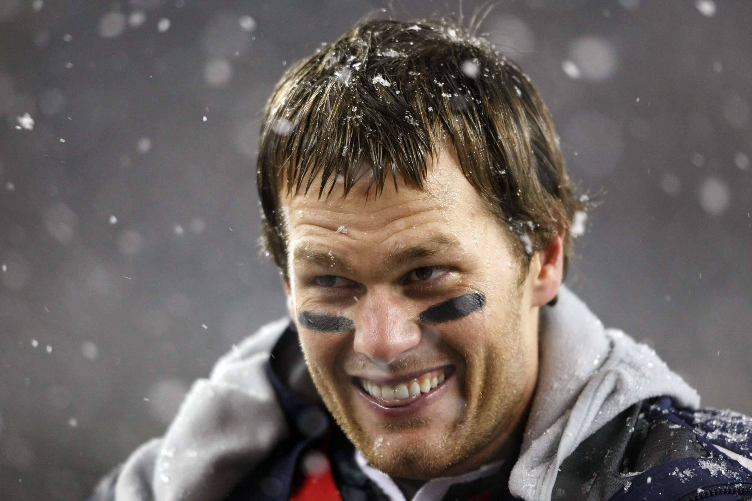 New England Patriots quarterback Tom Brady.