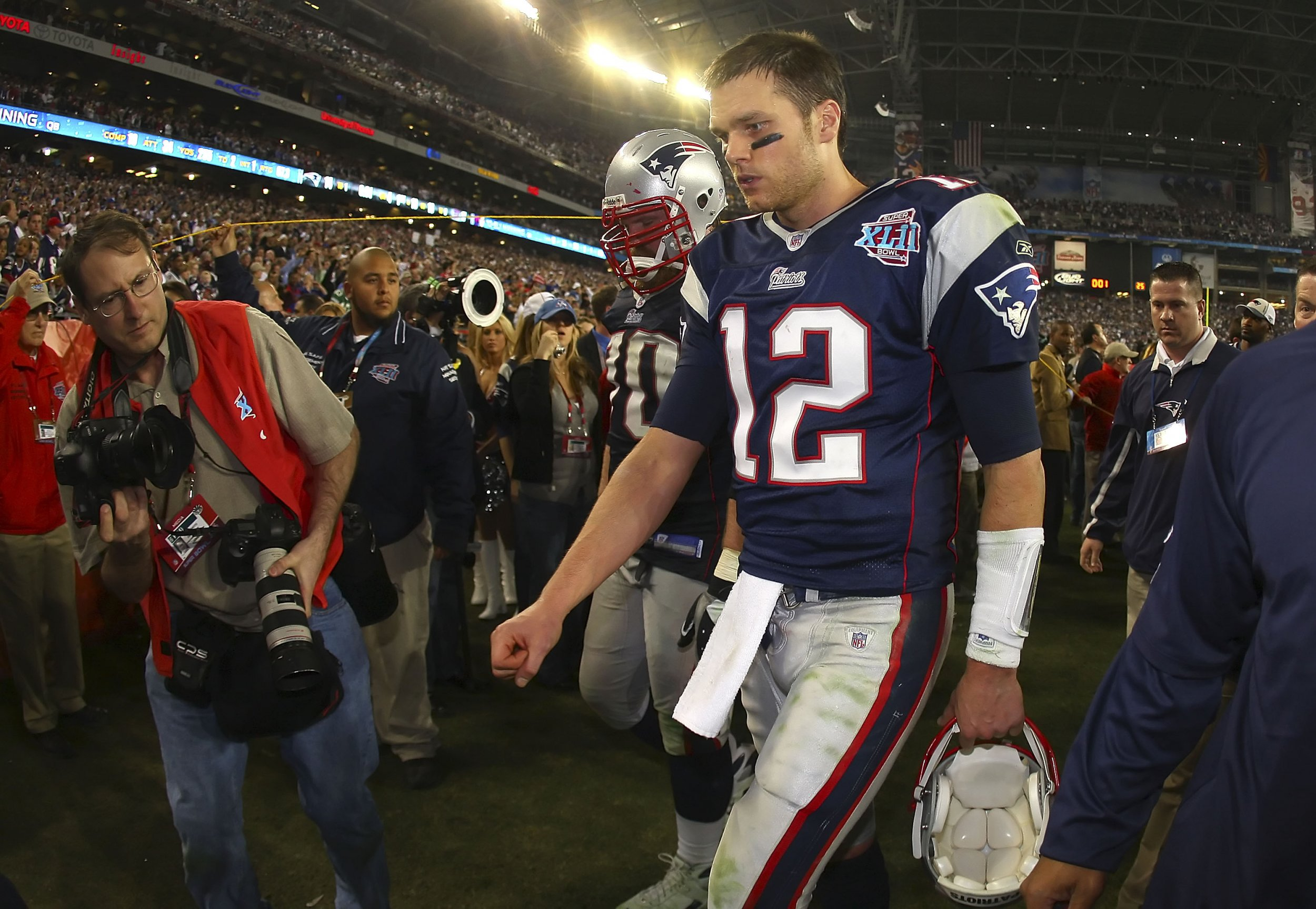 Tom Brady Still Relives '08 Giants Super Bowl Loss, Watching Game ...