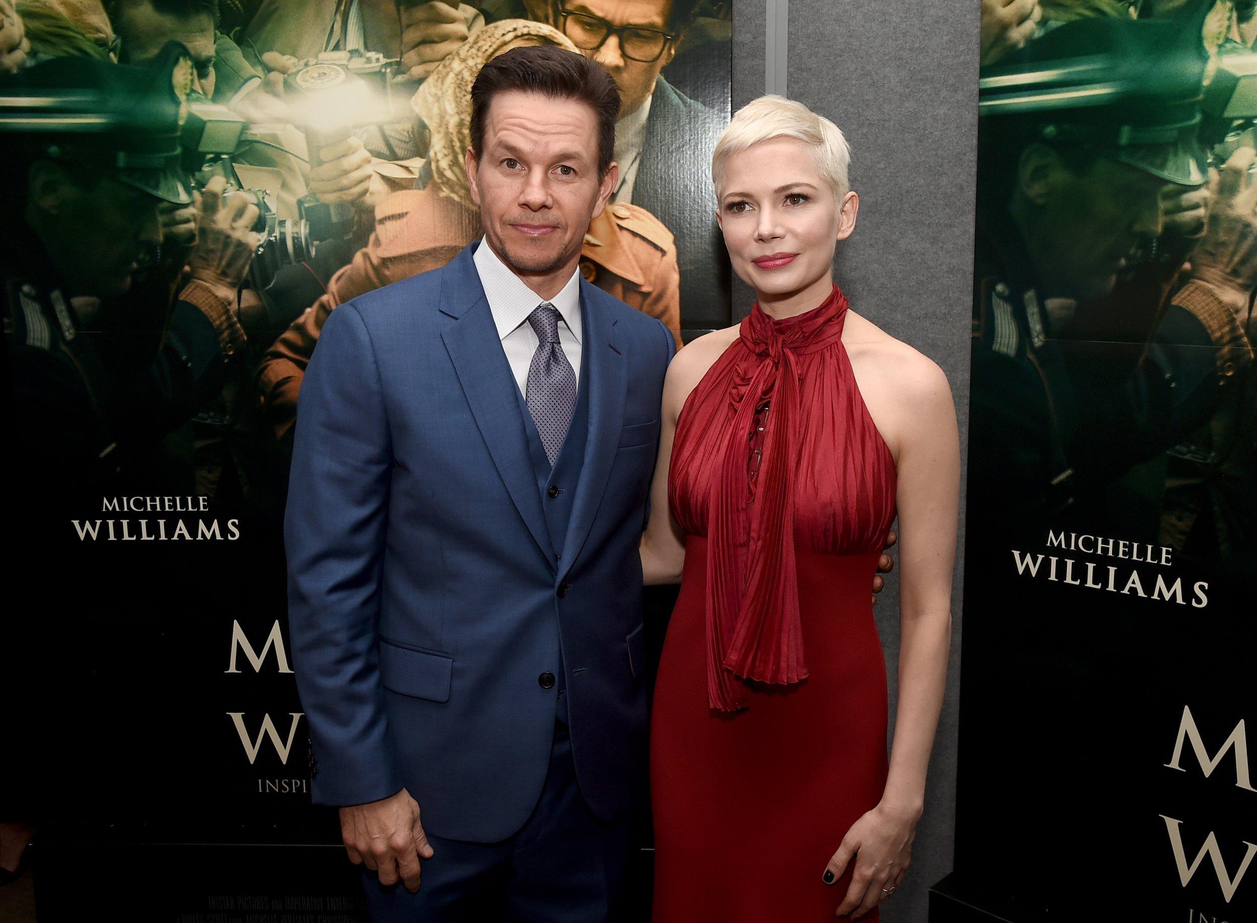 Mark Wahlberg and Michelle Williams in gender pay gap debate