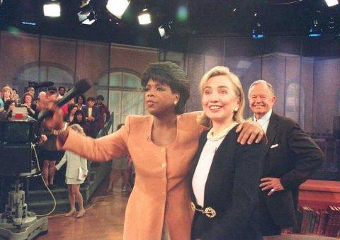 Oprah and Hillary