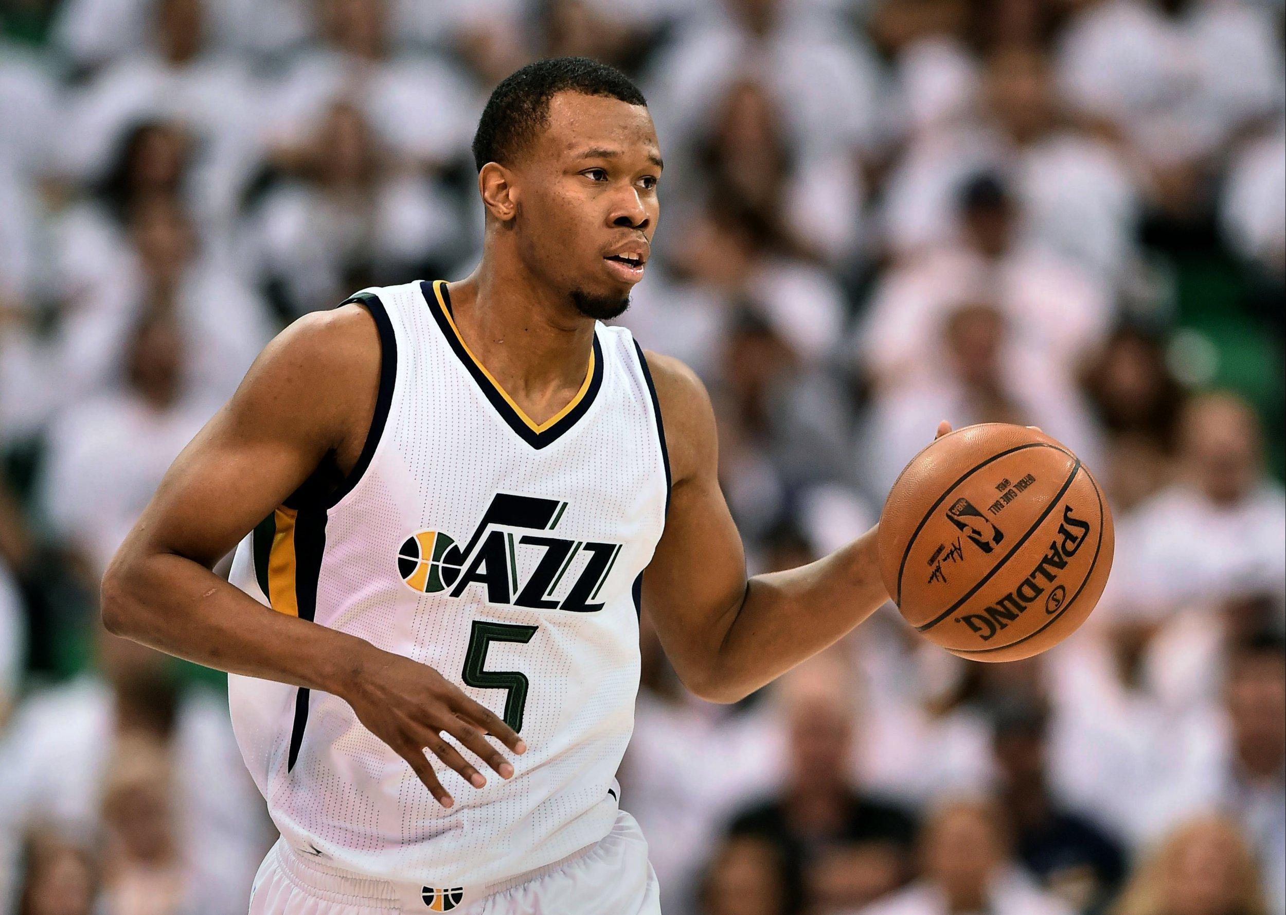 Utah Jazz shooting guard Rodney Hood.
