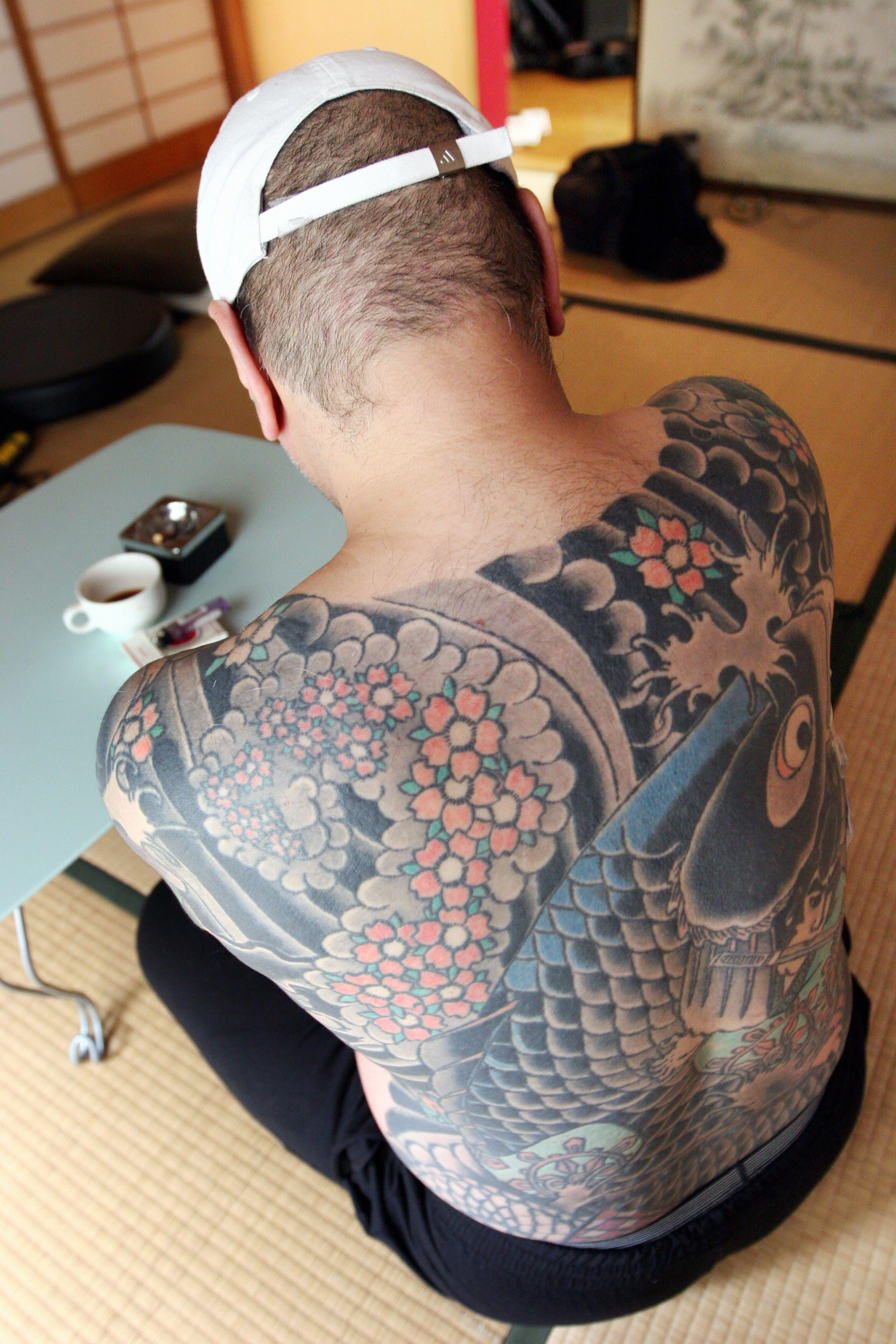 Man Yakuza Cigar Tattoo: Japanese Yakuza Boss Caught After Tattooed Photos Go Viral