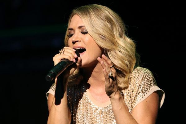 Carrie Underwood Teams Up With Ludacris For New Pop Track 'The Champion'